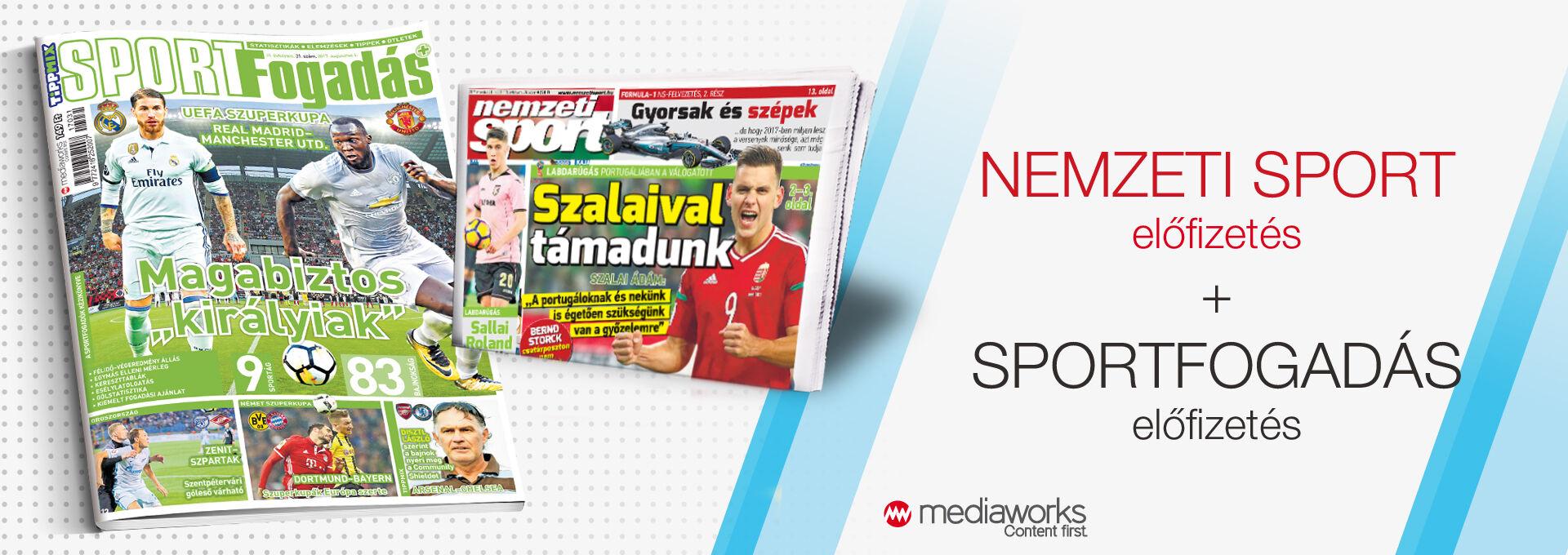 b963afeec4 ... Nemzeti Sport + Sportfogadás ...