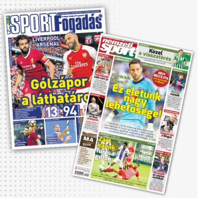 Nemzeti Sport + Sportfogadás csomag