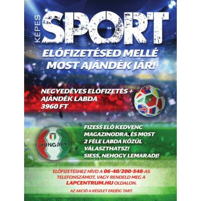 Képes Sport 3 hónapos előfizetés + ajándék Focilabda