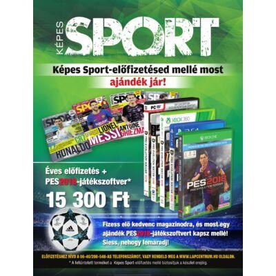 Képes Sport 12 hónapos előfizetés + PES2018-játékszoftver