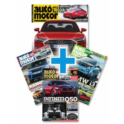 Autó Motor + Autó Motor EXTRA éves csomag előfizetés