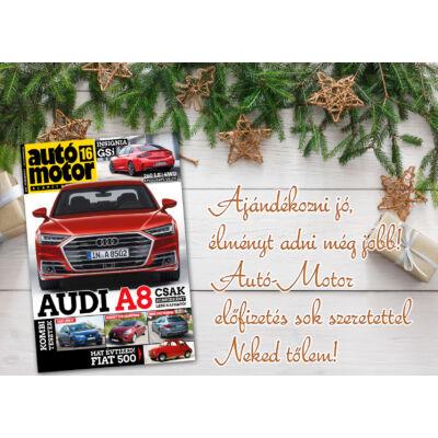 Autó-Motor ajándékkártya