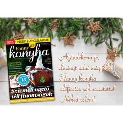 Fanny Konyha ajándékkártya