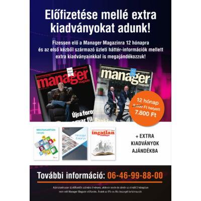 Manager Magazin + EXTRA kiadványok