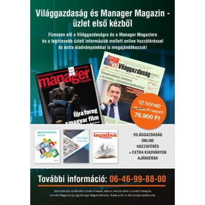 Világgazdaság + Manager Magazin + EXTRA kiadványok