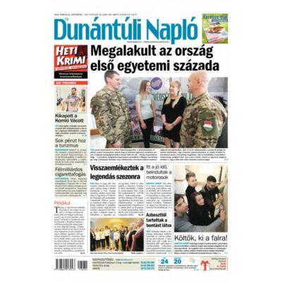 Új Dunántúli Napló előfizetés