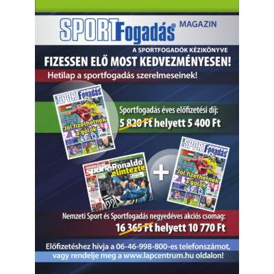 Akciós Sportfogadás előfizetések
