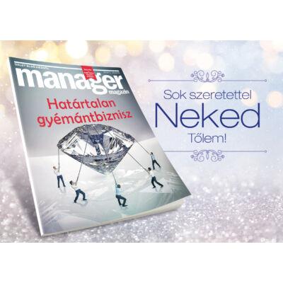 Ajándékkártya Manager Magazin