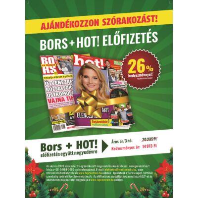 Bors - HOT! előfizetés negyedévre
