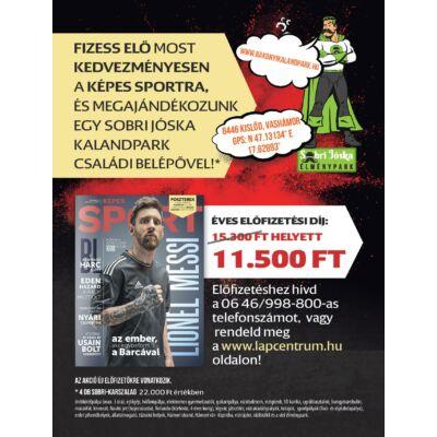 Képes Sport előfizetés + Sobri Jóska kalandpark belépő