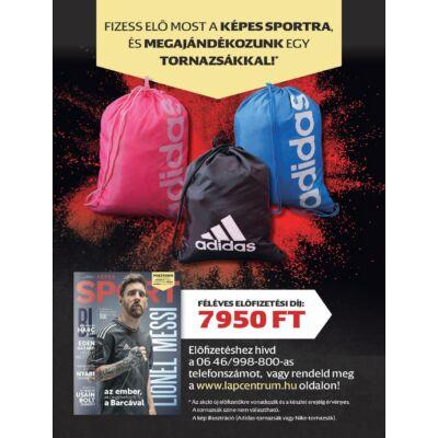 Képes Sport előfizetés + ajándék tornazsák