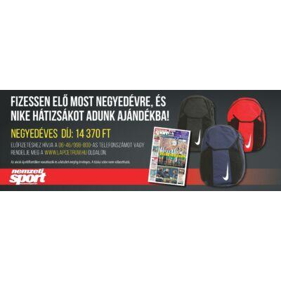 Negyedéves Nemzeti Sport előfizetés + NIKE táska
