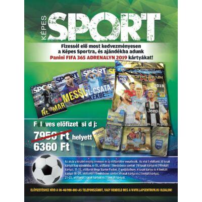Képes Sport előfizetés + Panini FIFA 365 Adrenalyn 2019