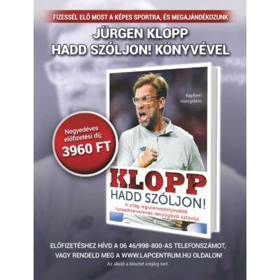 Képes Sport előfizetés + ajándék Jürgen Klopp könyv