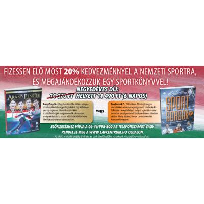 6 napos Nemzeti Sport előfizetés + Sportkönyv