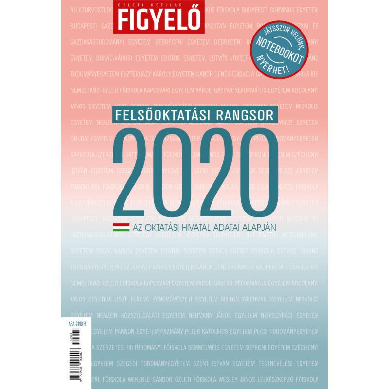 Figyelő Felsőoktatási rangsor 2021