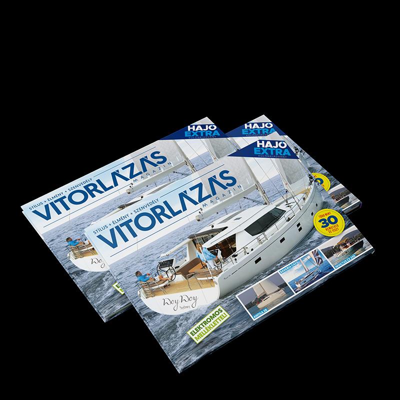 Vitorlázás magazin Hajó Extra különszám